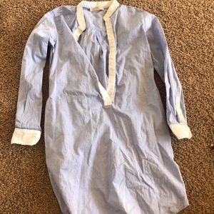 Auth Michael Kors button up work dress size small